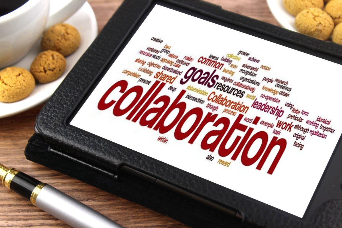 Collaboration is easy with PRs.